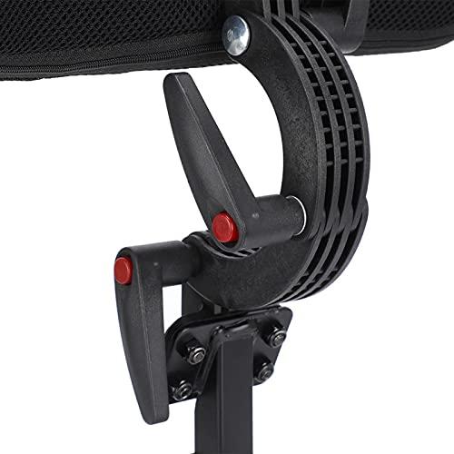 Rollstuhl-Kopfstütze atmungsaktiv verstellbare Rollstuhl-Nackenstütze zur Entspannung zum Schutz des Nackens für Rollstuhlfahrer zur Reduzierung von Gebärmutterhalsverletzungen(22mm clamp block)