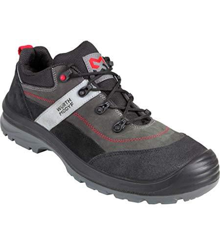 WÜRTH MODYF Sicherheitsschuhe S3 Corvus Velours grau: Der multifunktionale Schuh ist in Größe 45 erhältlich. Der zertifizierte Arbeitsschuh ist ideal für Lange Arbeitsalltage.
