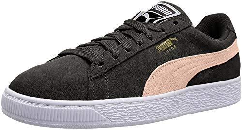 PUMA Suede Classic Sneaker, Castlerock-Pink Sand, 10 M US