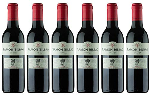 6x Ramon Rioja Crianza DOCa 0,375 L 2016 - Weingut Bodegas Ramón Bilbao, La Rioja - Rotwein