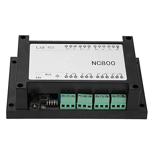 Reingeniería de la placa de control remoto TCP/IP Controlador de relé RJ45 Ethernet estable de 8 canales CA 250V 10A Tamaño mini Retorno de estado con estuche(white)