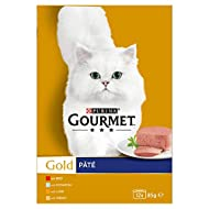 Gourmet Gold Pate Recipes Cat Food, 12 x 85g