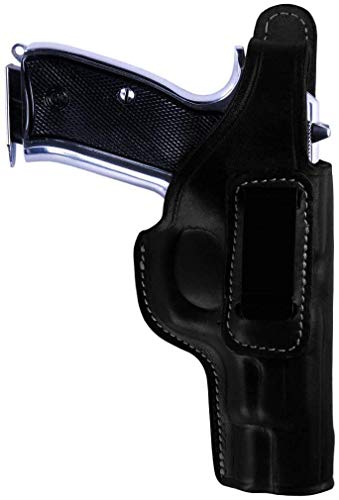 KoHolster Concealed Carry IWB Gun Holster for Smith Wesson SD9VE-5906-5904|4 inches|Geniune Leather|Black