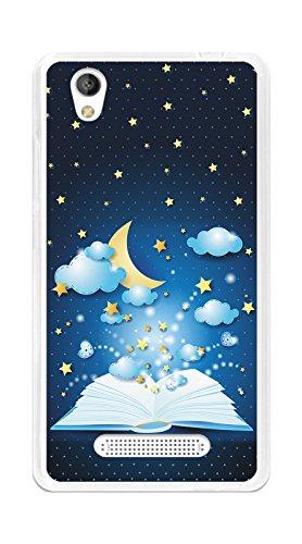 Tumundosmartphone Funda Gel TPU para ZTE Blade A452 diseño Libro-Cuentos Dibujos
