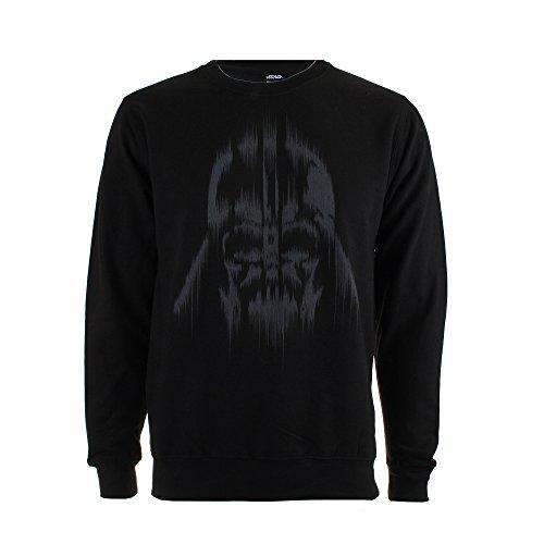 Star Wars Herren Vader Lines Sweatshirt, schwarz, L