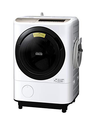 日立 ドラム式洗濯乾燥機 ビッグドラム 洗濯12kg/洗濯~乾燥6kg 右開き AIお洗濯 BD-NV120ER W ホワイト