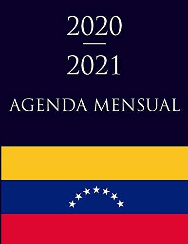 2020-2021 Agenda Mensual: Bandera de Venezuela 7 Estrellas   Calendario Anual y Mensual   Diario de Apuntes   Regalo de Cumpleaños para un Venezolano ... de Notas   Presente para la Familia.