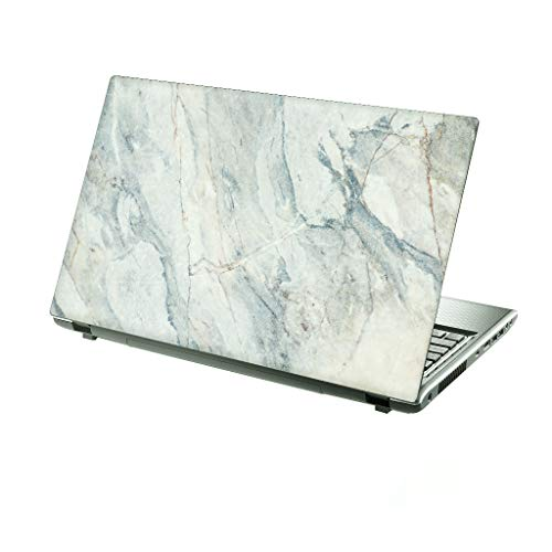 TaylorHe 13-14 inch Laptop Skin Vinyl Decal with Colorful Patterns and Leather Effect Laminate MADE IN England Marble Texture