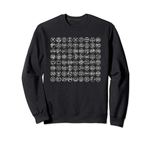 72 Siegel von Göteborg - Liste der Dämonen-Siegel Sweatshirt
