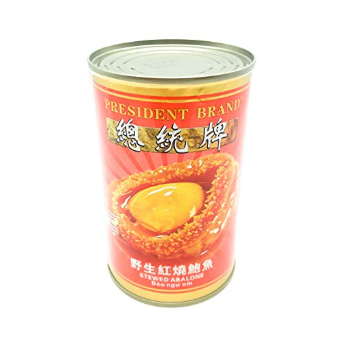 Greenlike Wild Abalone Canned 18 Pieces Instant Abalone 野生即食鲍鱼罐头 18 头 红烧