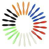 Zholuzl Precisión 6 Sets para HUBSAN X4 H107D HT107C HECHILLOS HECHILLOS PROPIEDADES DE Repuesto para HUBSAN RC - 6 Colores Buena Coincidencia