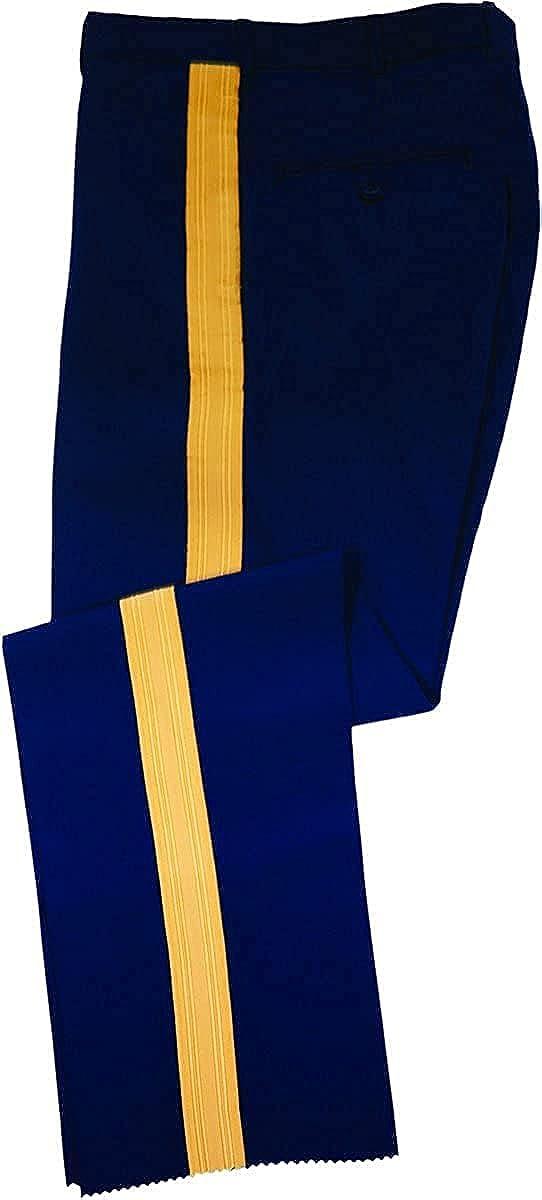 US Army Men's ASU C Dress Blues Service Uniform Braided Pants/Slacks Size 41L