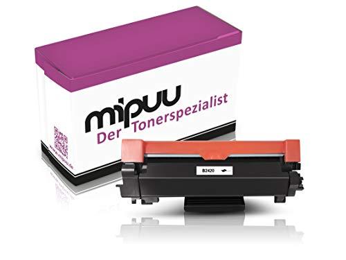 Mipuu toner compatibel met Brother TN-2420 voor HL-L2310d HL-L2350dw HL-L2370dn HL-L2375dw DCP-L2510d DCP-L2530dw DCP-L2550dn MFC-L2710dw MFC-L2710dn MFC-L2730dw laserprinter zwart 3000 pagina's