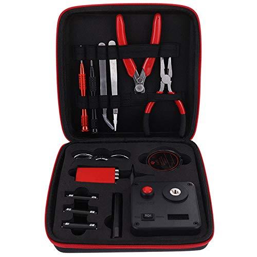 RUIYITECH Vape Tool Kit Combo Set Full Master DIY Kit V3 Jig Meter Pinzette Heißdraht Baumwolle Zange Vape Zubehör