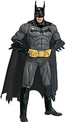 Rubies Mens Batman Collectors Edition Marvel Deluxe Superhero Fancy Costume