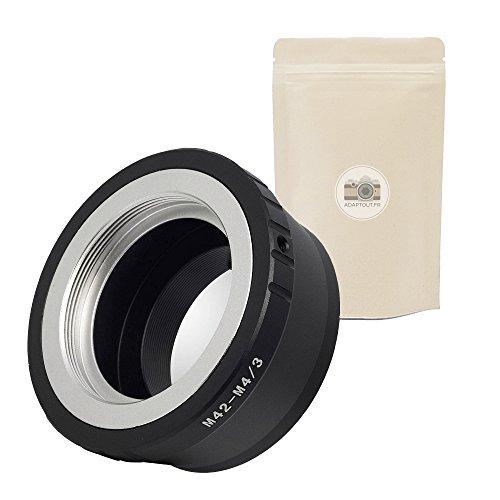 1x M42 M4/3 Anello Adattatore per Obiettivo M42 compatibile a Fotocamera Micro 4/3