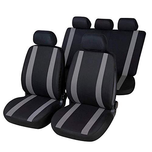 ONKAR Coprisedili Realizzati per Pajero PININ Versione (1998-2006) compatibili con sedili con airbag, bracciolo Laterale, sedili Posteriori sdoppiabili K77S0558
