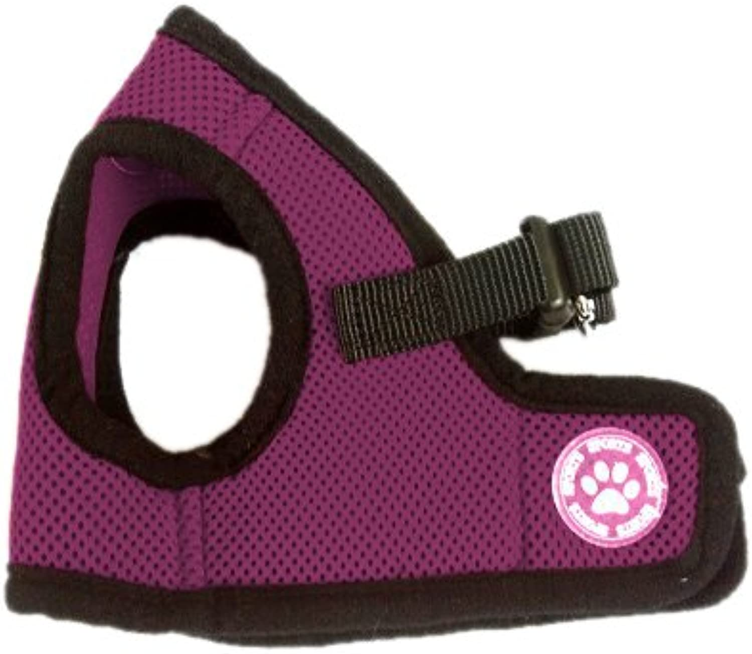 BINGPET BB5005 Classic Soft Vest Dog Puppy Pet Harness Adjustable Large Purple