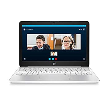 HP Stream 11.6-inch HD Laptop Intel Celeron N4000 4 GB RAM 32 GB eMMC Windows 10 Home in S Mode with Office 365 Personal for 1 Year  11-ak0020nr Diamond White