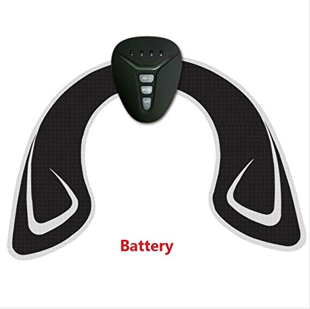 レタス不変出しますKTYX ユニセックスヒップデバイスFengqi美容ウエストシェイピングボディインストゥルメンツEMSインテリジェントマッサージ機器 マッサージャー (色 : Battery)