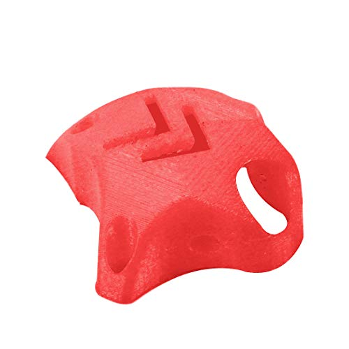 QWinOut 3D Printed Printing TPU Camera Protective Cover 3D Print for Mobula7 FPV Racing Drone DIY Quadcopter (Red)