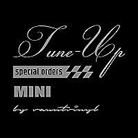 Tune-up mix MINI ミニ ステッカー シルバー 銀