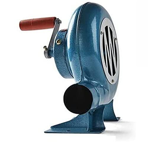 CHENGL Soplador de Forja de Manivela Blacksmith,Soplador de Barbacoa Manual,Ventilador Manual de Palomitas de Maíz con Engranaje de Hierro(80W/120W/150W/200W/250W/300W/350W)
