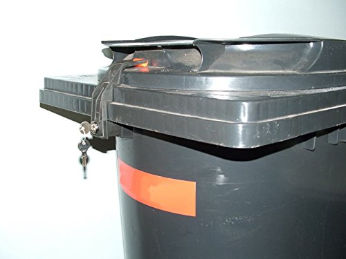 Mülltonnenverriegelung, 240 Liter, für Otto