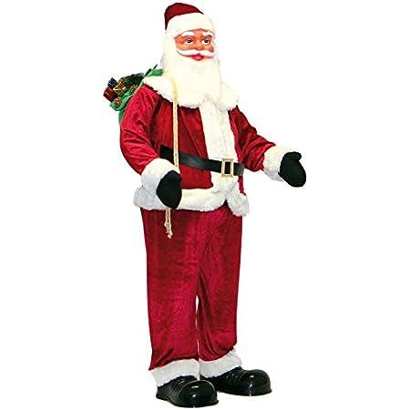 SINGENDER et Tourneur Père Noël Santa Claus 26 cm de Noël personnage Décoration