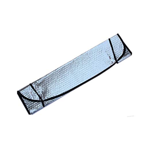 Vouw Car Zon Block, zilver aluminium folie Isolatie Cool Down Zonnescherm Quick Installation voorruit zonneklep, 140 * 70cm