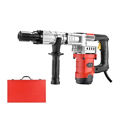 1200W 32J Electric Rotary Hammer Drill, 3500R/Min Demolition Hammer, Hand-Held Rock Drill Concrete Breaker Jack Hammer Power Tool, Does Not Contain Drill/Chisel