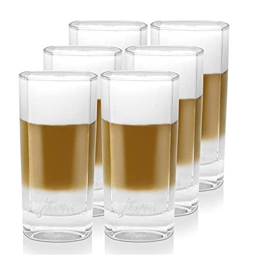 3x Jura Latte Macchiato Gläser gross 2er für Ihren Latte Kaffee