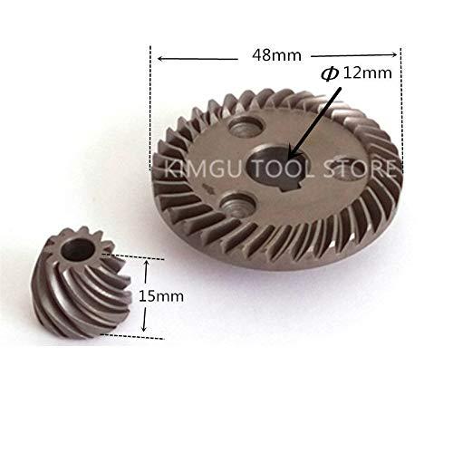 Maslin Spiral-Kegelgetriebe Ersatz für Makita 9557NB 9558NB 9558HN 9557NBR 9556HN 227541-3 227542-1 227471-8 227464-5 227505-7