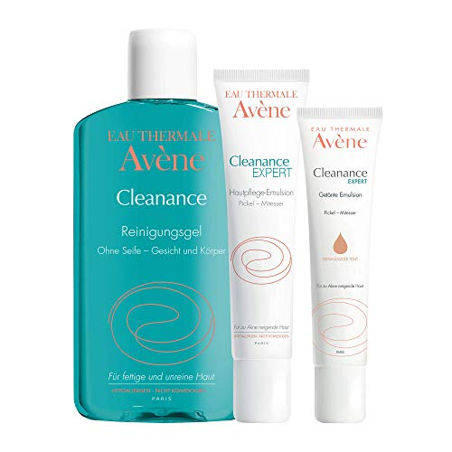 Avene Cleanance Pflegeprogramm+Probe gratis, 1 P