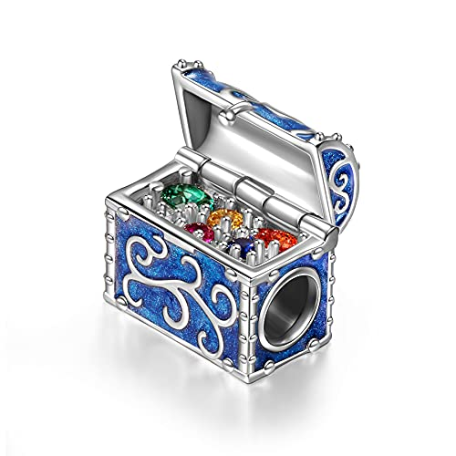 NINAQUEEN Chest Treasure Charms Fits Charms Bracelets...