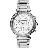 Michael Kors Reloj Cronógrafo para Mujer de Cuarzo con Correa en Acero Inoxidable MK5353