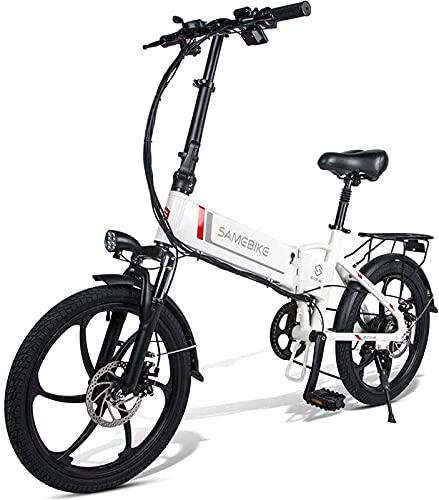 CASTOR Bicicleta electrica Bicicleta eléctrica Bicicleta eléctrica Plegable 48V 10.4AH, 350W para Viajes de Ciclismo al Aire Libre Trabajar y desplazarse