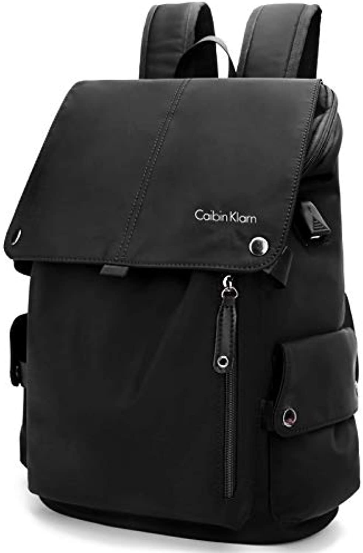 Herren Rucksack Business Tasche Casual Computer Tasche Canvas Tasche Computer Tasche Student Tasche Nylontuch