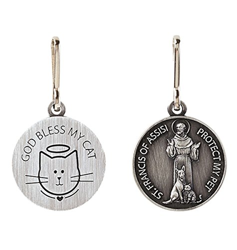 Saint Francis of Assisi Pet Medal  -  Sonstige Legierung NA Keine Angabe