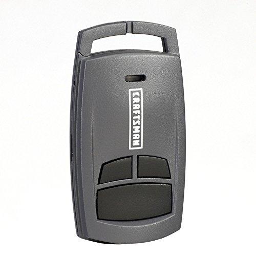 Craftsman Garage Door Opener 30499 3-Function Compact Remote Control