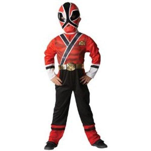 Power Ranger–I-881831–Kostüm–Klassisches Kostüm–Power Ranger–Rot