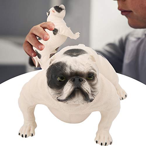 Decoración de modelo de perro, modelo de perro seguro no tóxico de plástico, simulación para educación infantil(PL127-1192)