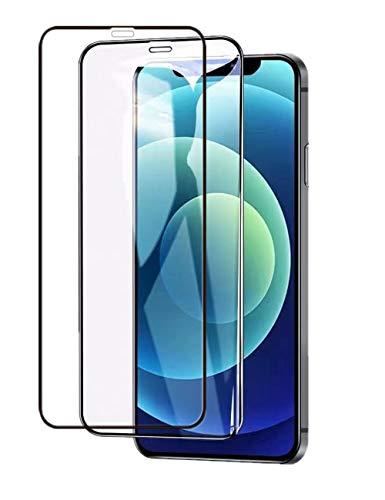UNO' Protector Pantalla 2 Unidades, Protector Pantalla Cristal Templado Compatible Con Iphone 12 Pro MAX Vidrio Templado Hd Apto Para Iphone 12 Pro MAX.