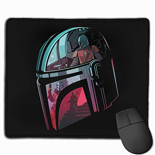 ETERNITYFING Man_Da-Lorian Gaming Mouse Pad,Laptop Mouse Pads Waterproof Non-Slip Rubber Mousepad,Suitable for Office Family Games 10 x 12 Inch.