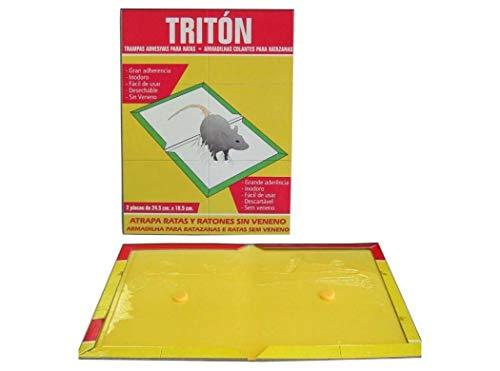 Trampa adhesiva para ratas y ratones Triton 24,5x18,5 cm