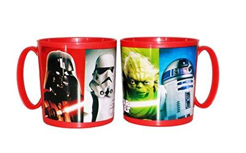 2115; Star Wars magnetron veilige beker; 350 ml; niet vaatwasmachinebestendig; plastic product; BPA vrij