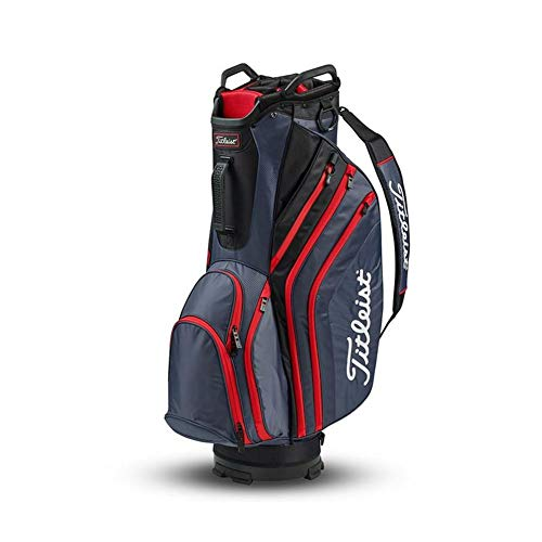 Titleist Lightweight Cart Bag Charcoal/Black/Red