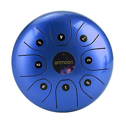 Tambor de Lengua de Acero, ammoon 5.5 Pulgadas Tongue Drum