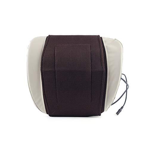 XMAGG Shiatsu Massagekissen mit Infrarot Wärmefunktion 3D Rotation für Massage auf Nacken Schulter Rücken Beine für Muskelschmerzen/Verspannung Erleichterung