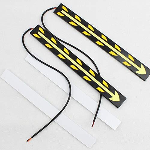 Swiftswan - 1 par de luces LED flexibles de 20,5 cm para conducción diurna, 100% impermeables